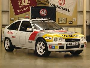 Vauxhall Rally Vauxhall Astra Gte Rally Car 1984 91
