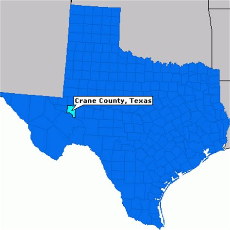 crane texas map crane county texas county information epodunk