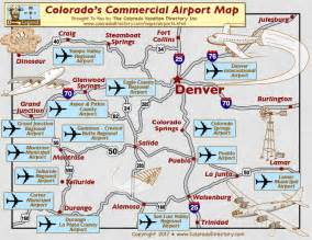 colorado springs tourist attractions map colorado commercial airports map co vacation directory