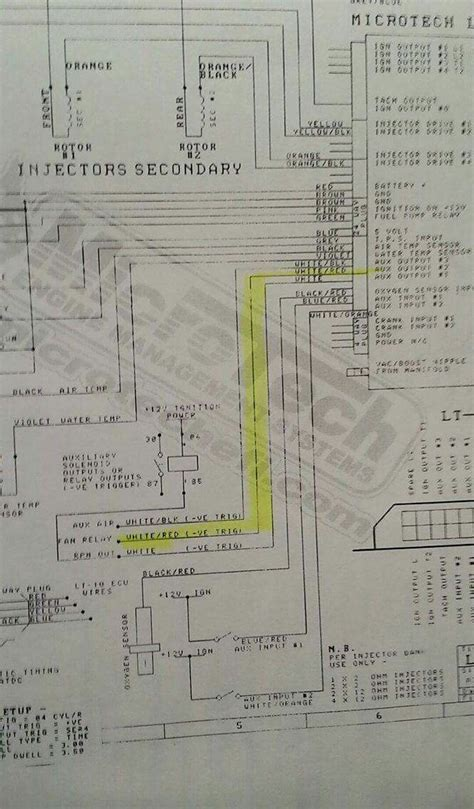 microtech rx7 wiring diagrams wiring automotive wiring