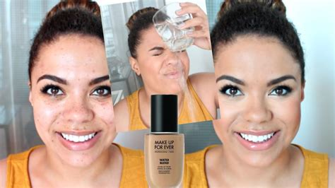 new make up for water blend foundation wear