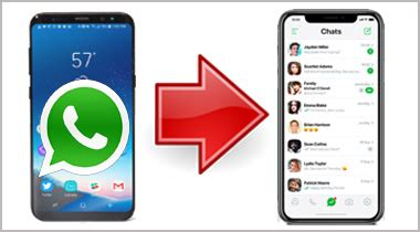 how to copy your whatsapp conversations from android to iphone