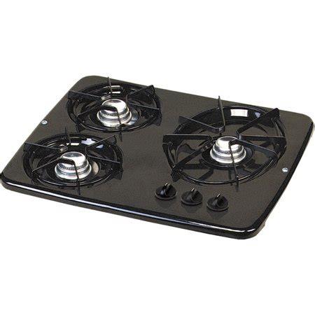 rv cooktop atwood 56471 wedgewood vision rv black drop in 3 burner