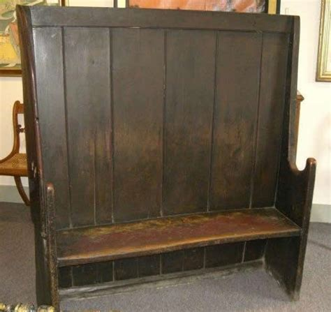 settle bench a quot settle quot bench english 18 19th century they set it