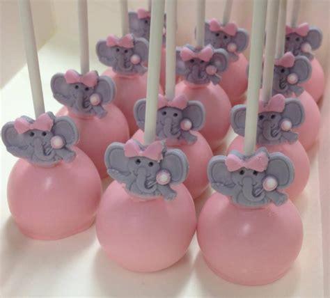 pink elephant baby shower cake pink elephant baby shower cake pops cake