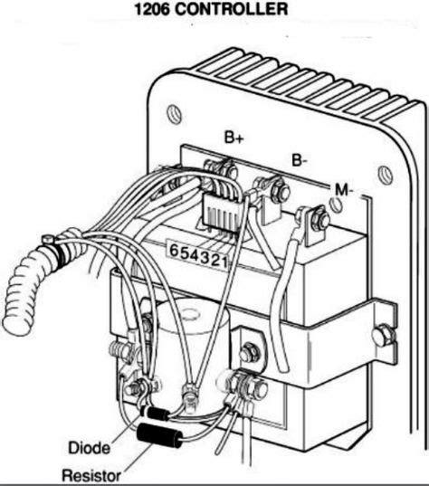 wiring diagram for ez go golf cart wiring diagram