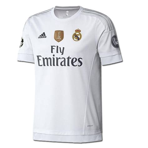 Jersey Real Madrid Home 15 16 Ls Original Bnwt Size Xl W Wcc real madrid ucl home 15 16 replica soccer jersey white