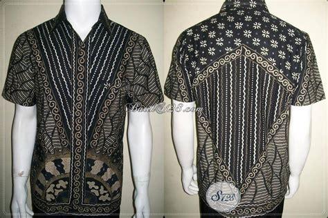 Kemeja Cowok Combi Rambat Putih gambar seragam batik asmat baju kombinasi pria kerja