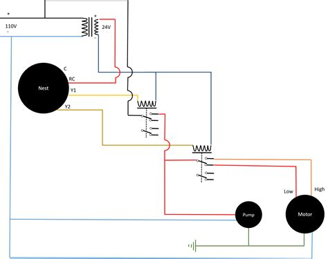 evaporative cooler switch wiring diagram lincoln wiring