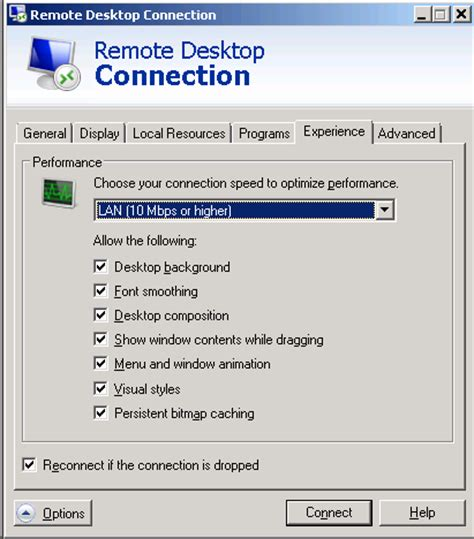 change wallpaper remote computer desktop background is turned off during remote connection