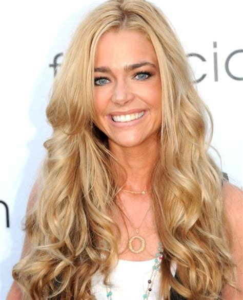 hairstyles for long curly blonde hair denise richards hairstyles careforhair co uk