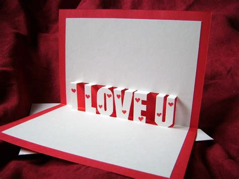 I You Pop Up Card Template by I You Pop Up Card