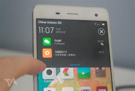 Review Xiaomi Mi 4 dengan skin Android MIUI