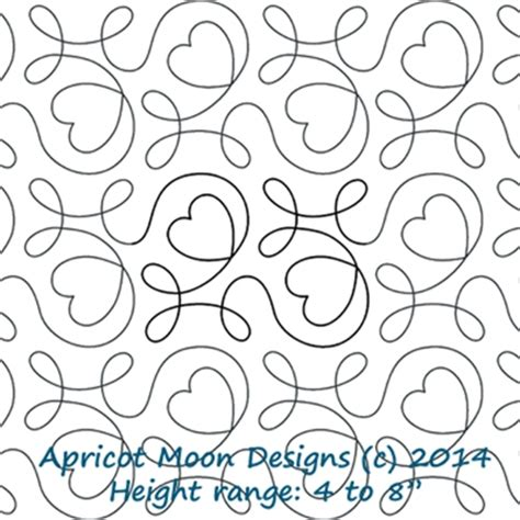 Digital Quilting Designs Free by Apricot Moon Digitized Quilting Designs