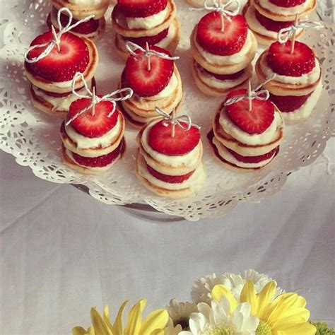 Simple Foods For Baby Shower by Baby Shower Food Ideas Bridal Shower Pies Strawberry