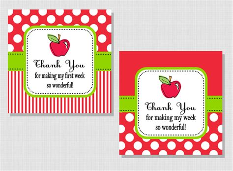 printable tags for teacher gifts first week of school gift tag gift ideas pinterest