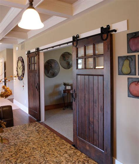 Barn Door Windows Decorating Sliding Barn Doors Ideas And Inspiration