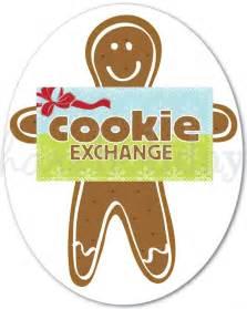 cookie exchange clip art 14