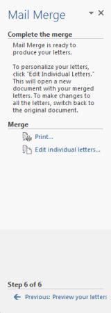 Using Mail Merge Tutorial Webucator - managing mailings webucator