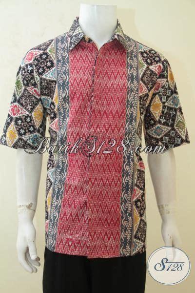 desain baju batik pria elegan sedia online aneka batik pria desain motif paling laku