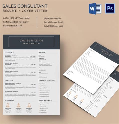 retail sales consultant resume samples visualcv resume