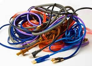 Get organized clean up your wires cables and cords slideshow from