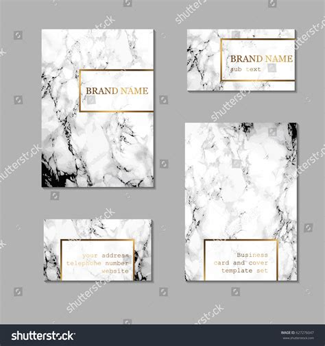 card sleeve template business card cover template set stock vector