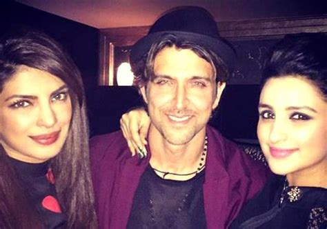 first picture from priyanka chopra s birthday celebration is here and it s overloaded with sweetness hrithik roshan birthday party chopra sisters join the