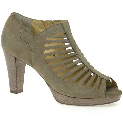 paul green shoes paul green ladder shoe boots nubuck cutout charles