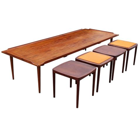 Coffee Table Stools by Fantastic Coffee Table With Reversible Stools Tables For Sale At 1stdibs