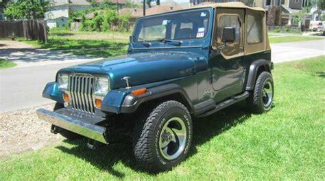 1995 Jeep Se Buy Used 1995 Jeep Wrangler Yj Se Sport 4 0l 5 Speed