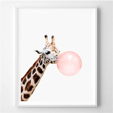 giraffe print home decor giraffe print nursery animal wall giraffe decor