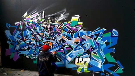 letras de graffiti abstracto en geneve nadib bandi