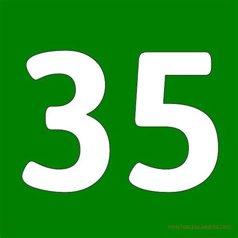 printable numbers 1 35 printablenumbers 1 50 petal