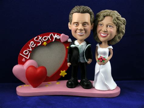 bobblehead picture frame shaped picture frame bobbleheads