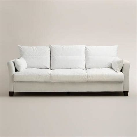 luxe sofa world market luxe 3 seat sofa frame world market