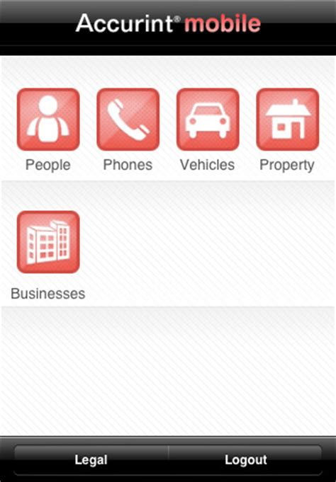 Accurint Search Lexisnexis Accurint Mobile App For Iphone Business