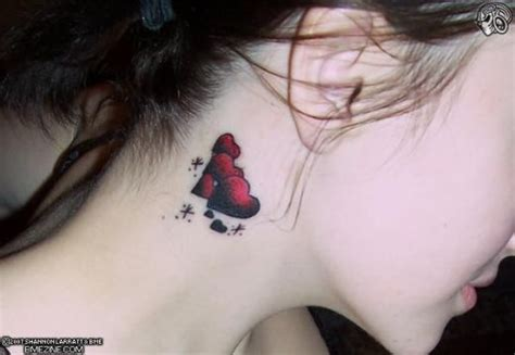 behind the ear tattoos pain 6 most places to get a