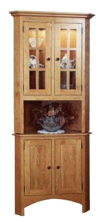 amish plymouth corner hutch 82 best images about amish corner hutches on pinterest