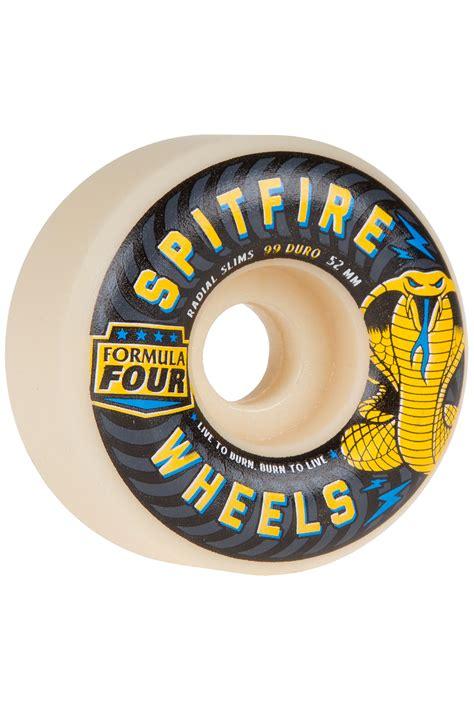 formula 4 spitfire spitfire formula four radials slim 52mm rollen 4er pack