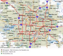 Twin Cities Metro Map by Salmela Properties Serving The Twin Cities Metro Area