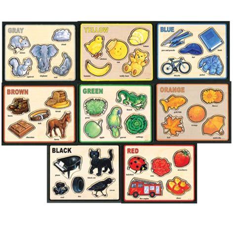 8 basic colors basic color puzzle set set of 8