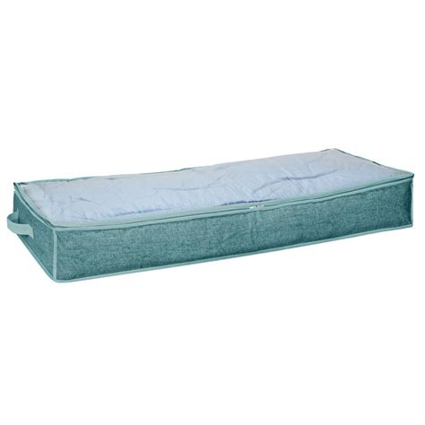 home depot under bed storage simplify under the bed storage bag 25424 dustyblue the