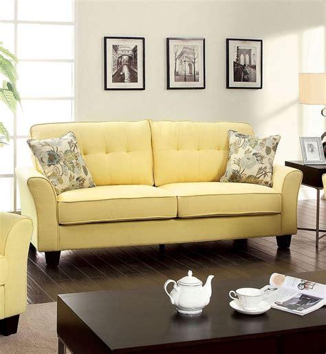 yellow sofas and loveseats yellow flax fabric sofa