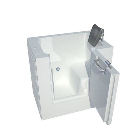 40 inch bathtub meditub mt3140rws enclosure ready 31 by 40 by 40 inch walk