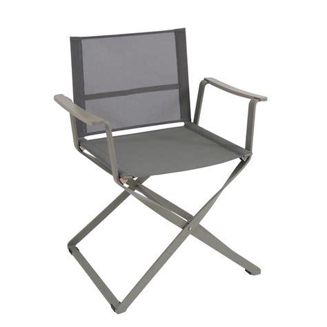 sedia emu ciak sedia regista emu in metallo e telo pieghevole