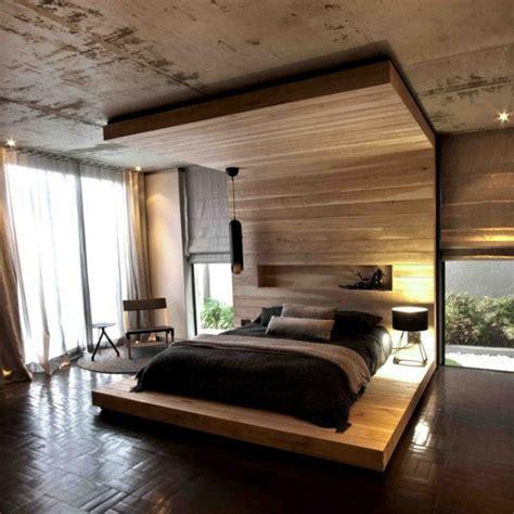 schlafzimmer aus holz himmelbett aus holz die spektakul 228 rsten ideen archzine net