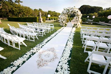 Wedding Ceremony by Outdoor Wedding Ideas Tips From The Experts Inside Weddings
