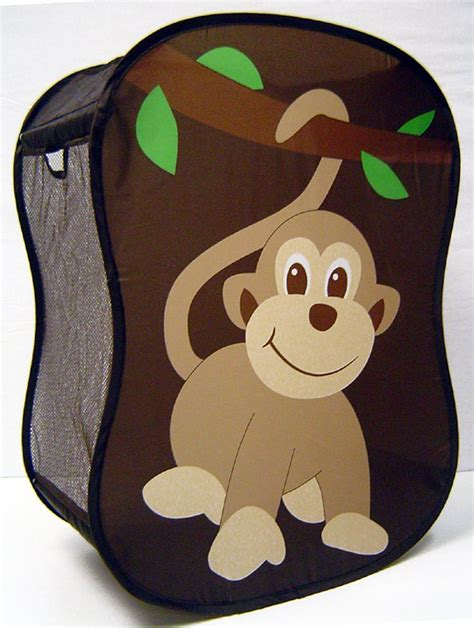 Starting Small Novelty Monkey Laundry Her Baby Nursery Monkey Laundry