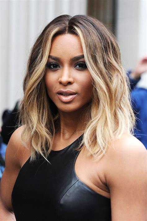 Ciara les cinq meilleures coiffures